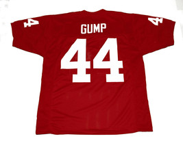 Forrest Gump #44 Movie New Men Football Jersey Maroon Any Size image 2