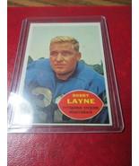 1960 Topps 93 - Bobby Lane - Pittsburgh Steelers - $17.99