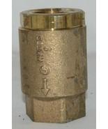 Watts Threaded LF600 Spring Check Valve NPT One Inch Brass 0555177 - $64.99