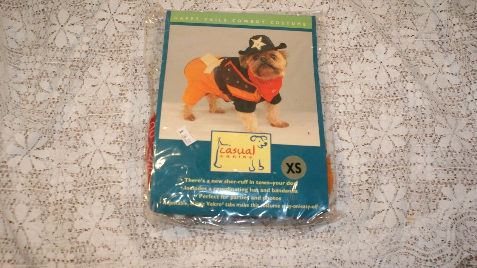 Vintage Casual Canine Halloween Costume