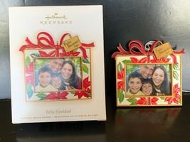Hallmark Keepsake Ornament Felix Navidad Photo Holder 2009 - $7.50