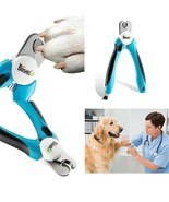 Dog Grooming Nail Clippers & Trimmer Professional At Home Sturdy Non Sli... - $21.28