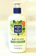 Kiss My Face 4 in 1 Moisture Shave Key Lime with Botanical Blends 11 fl. oz - $45.42