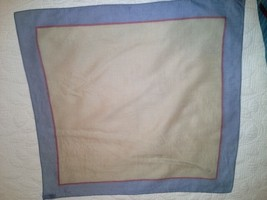 "Vintage 100% cotton scarf J.G. HOOK - 20"" x 21"" - $24.00"