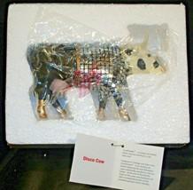 CowParade Disco Cow Item # 9134 Westland Giftware AA-191942 Vintage Collectible image 1