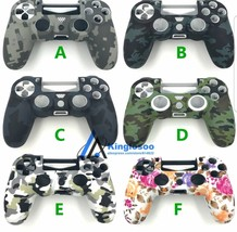 Silicone Skin Camo Cover for SONY PLAYSTATION 4 PS4 DUALSHOCK Controller... - $7.15+