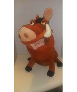 "WALT DISNEY COMPANY LION KING PUMBA 17"" Plush Vintage Toy - $24.74"