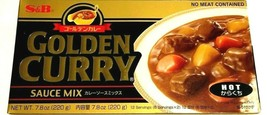 S&B Golden Curry Sauce Mix - Hot 7.8 oz ( Pack of 6 )  - $32.71