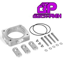 For 99-04 Ford F250 F350 Super Duty Silver Throttle Body Spacer Kit 5.4L... - $86.40