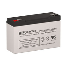 CooPower CP6-12 Replacement SLA Battery by SigmasTek - $23.75