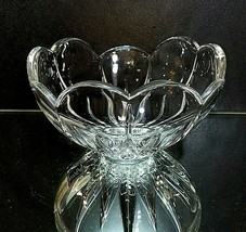 "1 (One) MIKASA ICICLES Cut Lead Crystal Bowl 5"" DISCONTINUED PATTERN - $12.85"