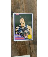 1981-82 Topps Signé Auto Carte Scott Wedman Cavaliers Kings Celtics Colo... - $9.97