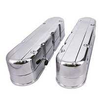 A-Team Performance GM LS Smooth Cast Aluminum Valve Covers with Coil Mounts and
