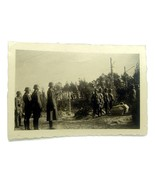 WW2 German original photo funeral fallen comrades - $10.00