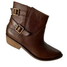 Lucky Brand Womens Caelyn Brown Ankle Boot Bootie Size 7.5M  - $69.29