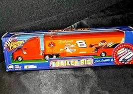 NASCAR Dale Earnhardt Jr. #8 Trailer Rig Die-Cast Collector Orange AA19-NC8003 image 9