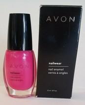 AVON Nailwear Nail Enamel PUNCH 4 FL. Oz. 12ml. New in Box - $5.93