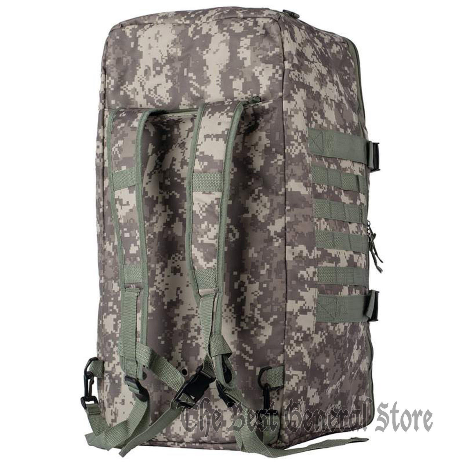 "Digital Camo 24"" Tote Backpack Duffle Bag Day Pack Hunting Hiking Camping Gear"