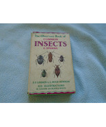 The Observers book of Common Insects And Spiders - $8.55