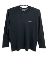columbia Omni Wick Advance Evaporation Black Long Sleeve Pullover Men's ... - $16.83