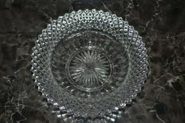 "Westmoreland Glassware English Hobnail Crystal 555 Clear 6"" Flared Bowl - $9.74"