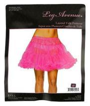 NEW LEG AVENUE WOMEN'S SEXY TUTU DANCE PETTICOAT SKIRT 8990 ONE SIZE HOT PINK image 3