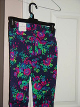Place Floral Jeggings Pants Size 8 - $23.95