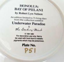 Honolua Bay Of Piilani Underwater Paradise Danbury Mint Plate Robert Lyn Nelson image 5