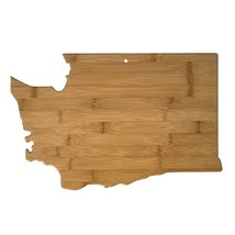 Totally Bamboo Washington State Shaped Bamboo Serving and Cutting Board - $23.52