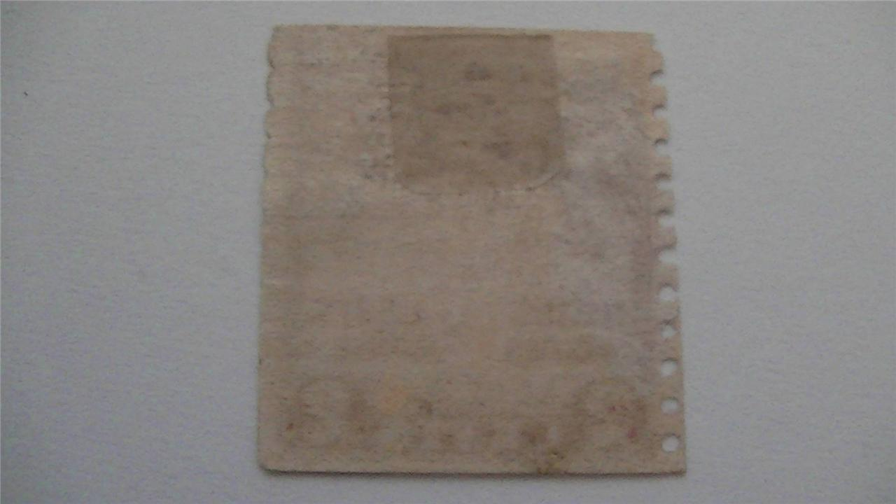 Old Edisons First Lamp Carmine USA Used 2 Cent Stamp
