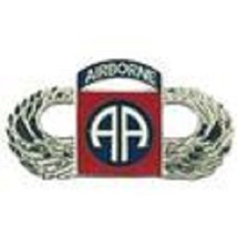 US Army 82nd Airborne Wing Silver Badge Pin - $9.89