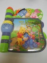 VTech Disney Winnie The Pooh Slide N Learn Storybook  Eeyore Piglet Music  - $22.27