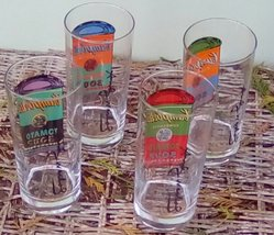 Vintage Andy Warhol Campbell's Soup Drinking Glasses.  G - 038 image 4