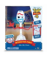 "Toy Story 4 INTERACTIVE 11"" FORKY Walks Talks Dances Responds to Voice E... - $44.99"