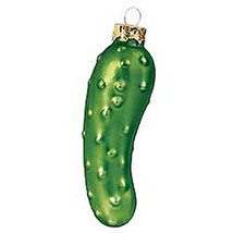 Glass Pickle Ornament - $15.00