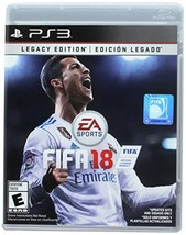 FIFA 18 Legacy Edition - PlayStation 3 [video game] - $39.20