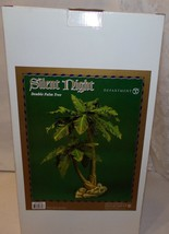 "Dept 56 Department Silent Night Double Palm Tree 16"" New In Box Nativity - $165.72"