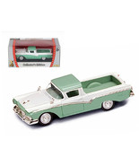 1957 Ford Ranchero Green 1/43 Diecast Model Car by Road Signature 94215grn - $20.02