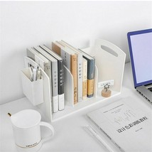 Newly Plastic Desk Book Magazine Office Accessories Shelf Rack Home Orga... - $38.49