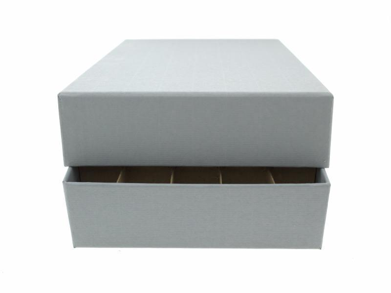 Guardhouse Coin Tube Storage Box, Heavy Duty - Small Dollar/Gray