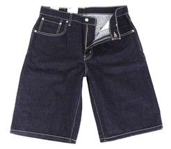 BRAND NEW LEVI'S 569 MEN'S COTTON SHORTS ORIGINAL RELAXED FIT BLUE 355690063 image 2