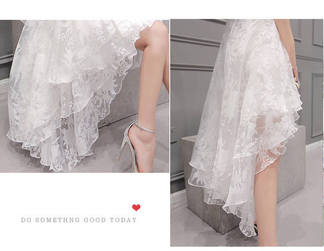 High low party Dress  at Bling Brides Bouquet online bridal store image 7