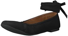 BC Footwear Women's Have A Heart Ballet Flat Black 7 M US - $29.95