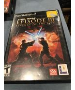 Star Wars: Episode III: Revenge of the Sith (Sony PlayStation 2, 2005) - $10.00