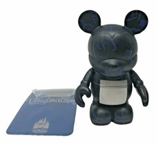 "Disney Park Vinylmation Mickey Mouse Action Figure 1/2 Marathon 3"" w/ Ca... - $15.00"