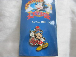 Disney Trading Pins 8869: 12 Months of Magic - Happy New Year 2002 (Mickey) - $9.50