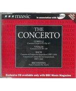 The Concerto: Corelli/Vivaldi/Bach/Beethoven BBC Music [Audio CD] Corell... - $3.95