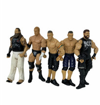 5 WWE Action Figures Includes Kevin Owens, Triple H, Bray Wyatt, and 2 J... - $42.99
