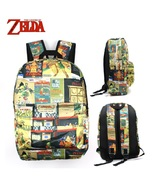 The legend of zelda backpack school bag travel bookbag daypack kid student type e3 thumbtall