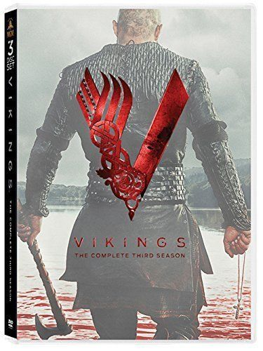 Vikings Second 3rd Season 3 Thre Complete DVD Set Series TV Show Episode History